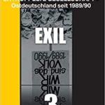"Buchcover: ""Exil"" (Band 3) von Dr.in Yana Milev"