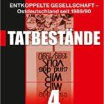 """Buchcover: """"Tatbestände"""" (Band 4) von Dr.in Yana Milev"""